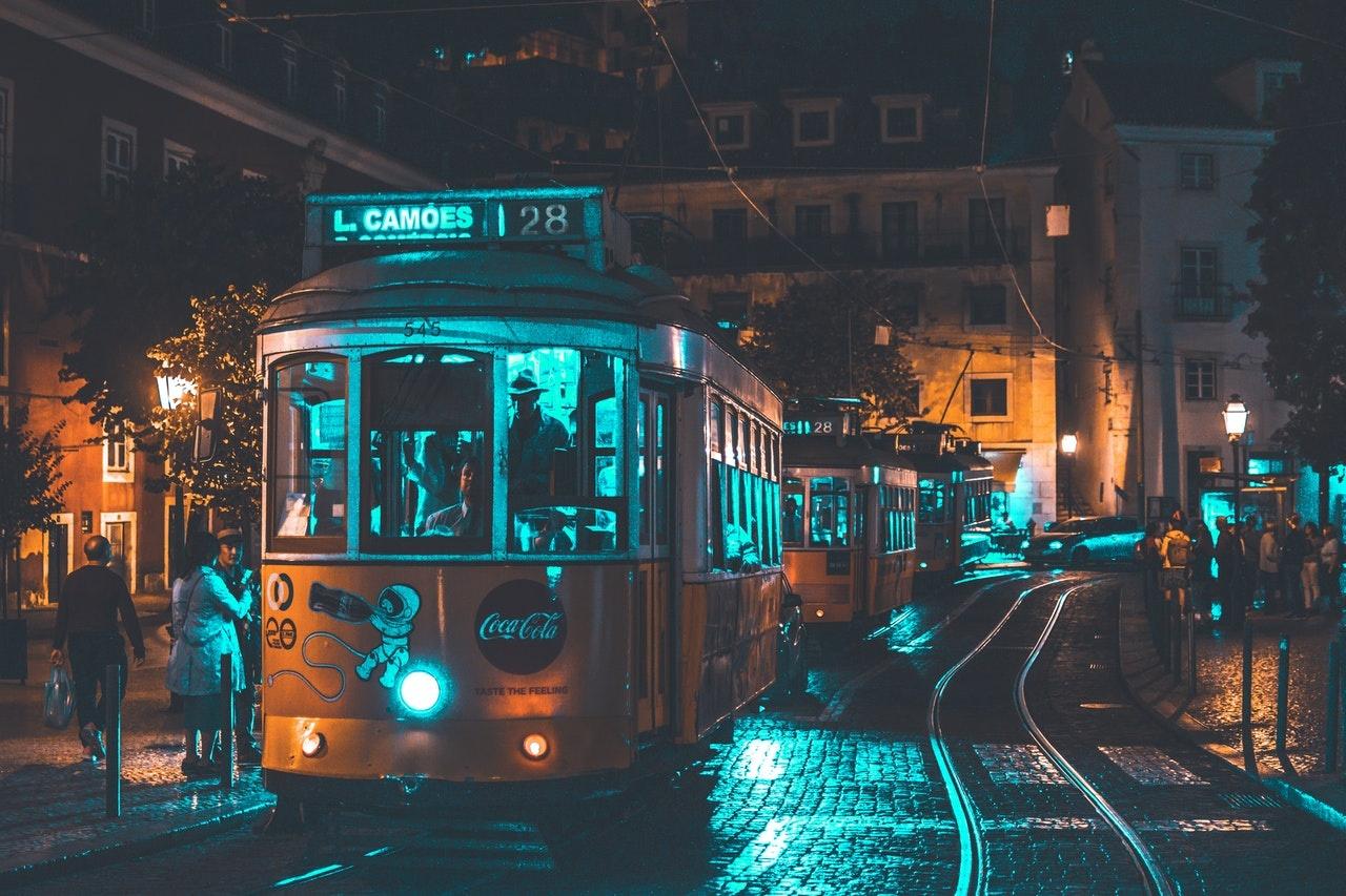 transporte público en Lisboa